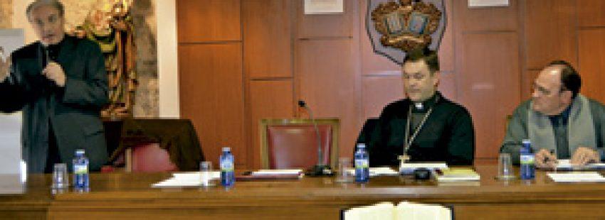 sesión de la asamblea diocesana de Ciudad Rodrigo