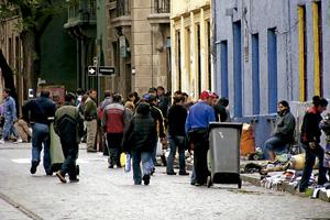 barrio popular de Chile