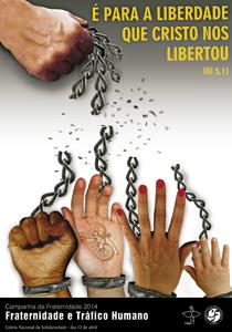 cartel para la Campaña de Fraternidad 2014 de Cuaresma de la Iglesia en Brasil