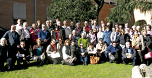 participantes en el XIII Encuentro Nacional de Responsables de PROSAC
