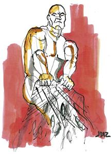 ilustración de Jaime Diz para el artículo del cardenal Ravasi 2881