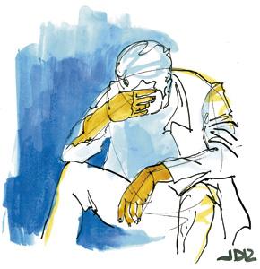 ilustración de Jaime Diz para el artículo de Torralba 2882