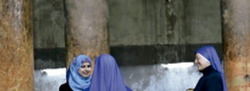 religiosas palestinas en Tierra Santa