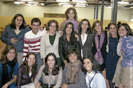 grupo de participantes de pastoral ATP corazonistas Salamanca