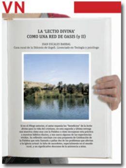 portada Pliego La lectio divina como una red de oasis (y II) 2882 febrero 2014