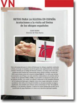 portada Pliego Retos para la Iglesia en España ante la visita ad limina febrero 2014 2883