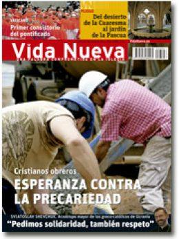 portada Vida Nueva Esperanza contra la precaridad trabajadores 2884 marzo 2014 pequeña