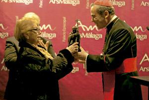 Jesús Catalá, obispo de Málaga, en un acto en Ars Málaga