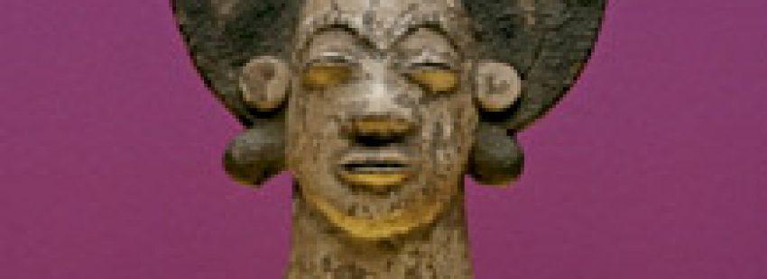 pieza de escultura exhibida en Ars Málaga