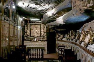 Cueva de san Ignacio, en Manresa