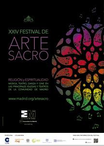 cartel del XXIV Festival de Arte Sacro de la Comunidad de Madrid 2014