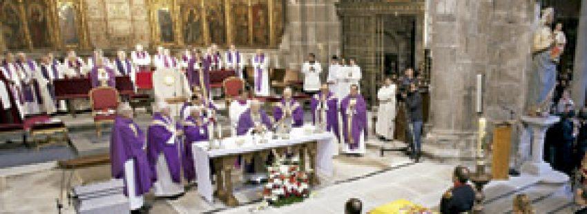 funeral por Adolfo Suárez, presidente del Gobierno, fallecido en marzo de 2014