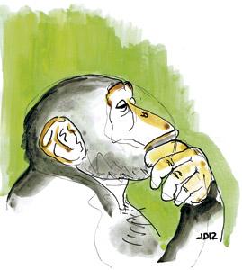 ilustración de Jaime Diz para el artículo de Francesc Torralba 2886