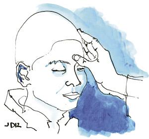 ilustración de Jaime Diz para el artículo de Fernando García de Cortázar 2887