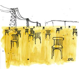 ilustración de Jaime Diz para el artículo 2888 de Francisco Vázquez