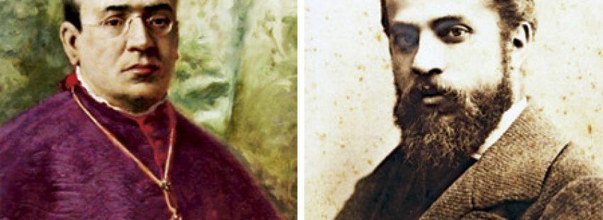 obispo Campins y Gaudí reformadores de la catedral de Mallorca