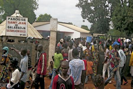 República Centroafricana parroquia de Saint Jean de Galabadja salesianos