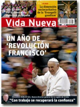 portada Vida Nueva Un año de revolución Francisco 2885 marzo 2014 pequeña