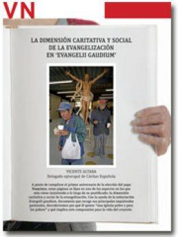 portada Pliego Dimensión caritativa y social de Evangelii gaudium 2885 marzo 2014