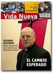 portada Vida Nueva Ricardo Blázquez nuevo presidente CEE 2886 marzo 2014 pequeño