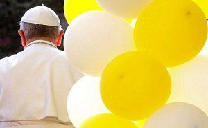 El Papa Francisco el pasado domingo