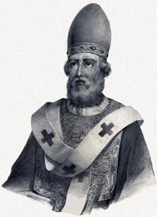 San Dámaso I. Pedro Augusto Guglielmi, 1840.