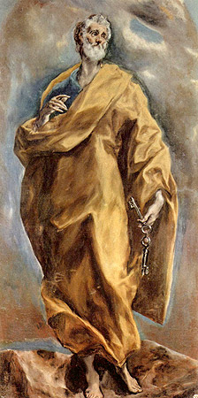 San Pedro. El Greco, 1608.