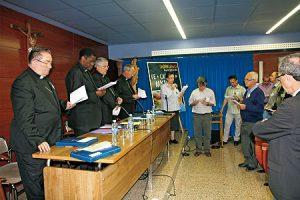Apertura de las Jornadas de Misiones y Asamblea de las OMP.