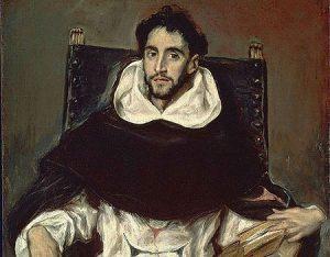 Hortensio Paravicino, por El Greco (1609).