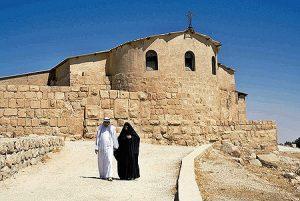 Iglesia en el monte Nebo.