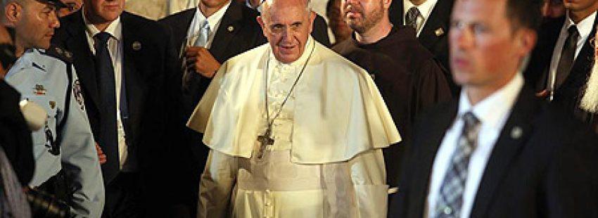 visita del papa Francisco a Tierra Santa 24 mayo 2014