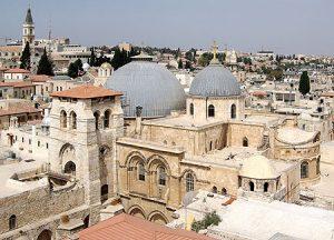 Santo Sepulcro en Jerusalén