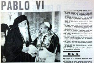 Página de Vida Nueva en 1964.