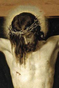 Detalle del Cristo de Velázquez (1632) [ampliar]