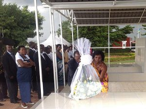 Acto de recuerdo a Felicitas Niyitegeka.