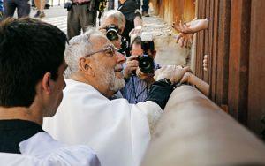 Eucaristía en la frontera de México y Estados Unidos.
