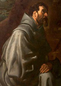 San Francisco de Asís (Velázquez, 1620)