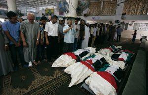 En dos semanas, se registran más de 600 muertos en Gaza.