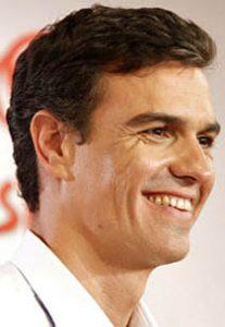 Pedro Sánchez, secretario general socialista.