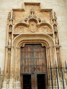 Portada de la Catedral Magistral de Alcalá.