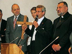 Responsables de Cáritas de Oriente Medio reunidos en Roma.