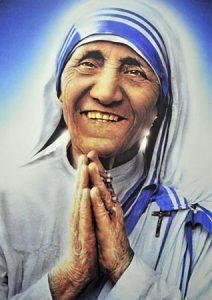 Madre Teresa.