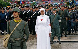 Misa por las víctimas de la Gran Guerra de 1914-1918.