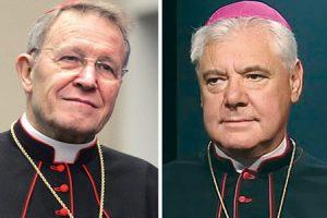 Los cardenales Walter Kasper y Gerhard-Ludwig Müller.
