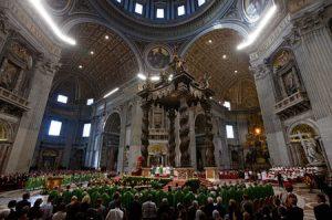 Misa de canonización.