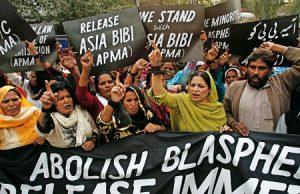 Manifestación por la liberación de Bibi.