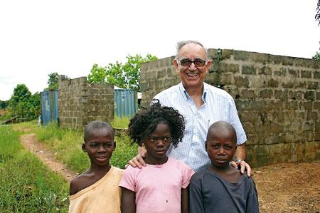 Miguel Pajares pasó media vida en Liberia.