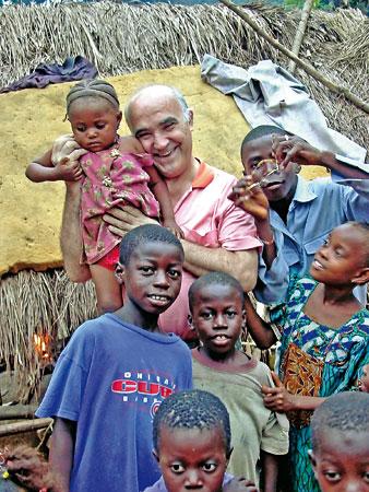 Manuel García Viejo, en Sierra Leona.
