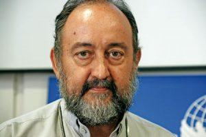 Juan José Aguirre, obispo de Bangassou.