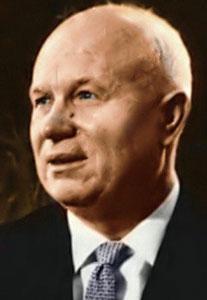 Nikita Kruschev.